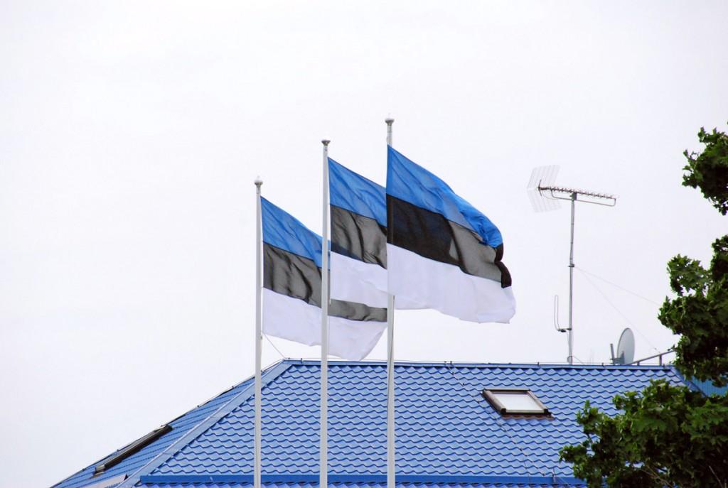Lipud Kärdlas Foto Urmas Saard