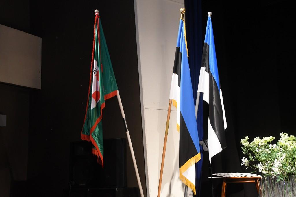 Lipud Sindi seltsimajas. Foto Urmas Saard