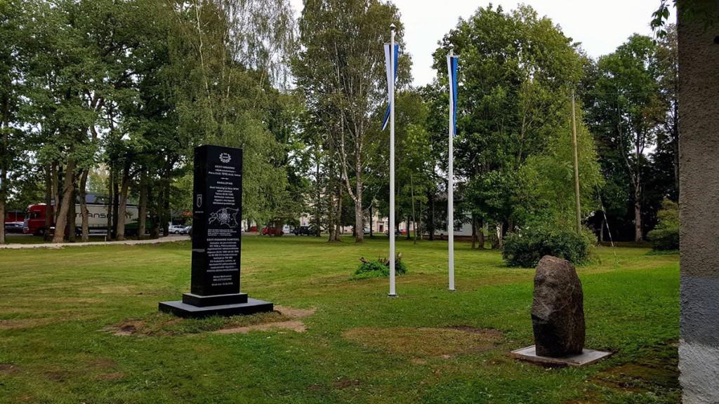 Mälestusmärk Mihkel Mathieseni mälestuseks Foto Marko Šorin