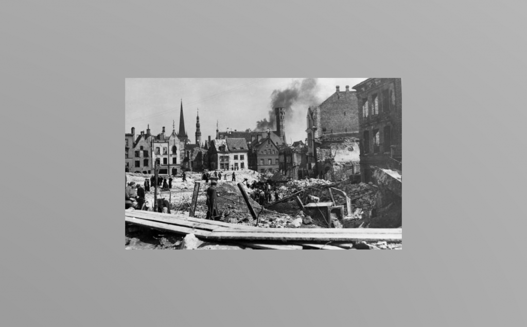 Märtsipommitamine Foto Tallinna linnaarhiiv