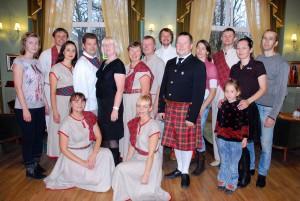 Möödunud aastal tantsiti keilit Café Grand'is Foto Urmas Saard