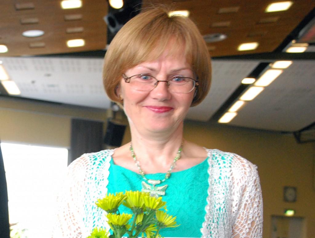 Malle Erend jagab ennast erinevate loengute vahel kolledžis, gümnaasiumis ja Väärikate ülikoolis Foto Urmas Saard