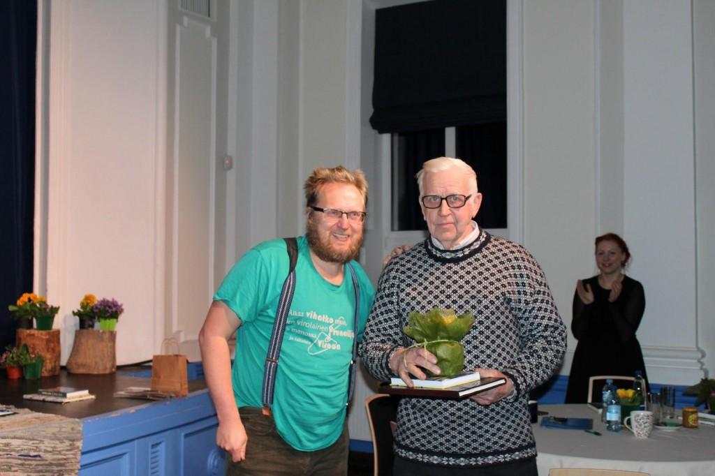 Margus Konnula ja võitja Karl Mõts. Foto Merle Soonberg