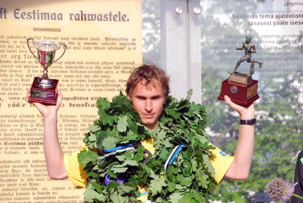 Mario Mustasaar, klubi SpartaAlternatiivsed Jooksjad Foto Urmas Saard