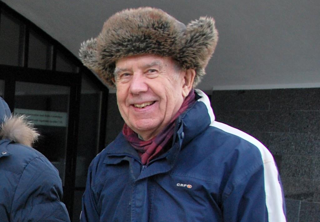Mart Niklus, kelle Tartu kodus Vikerkaare tänav 25 toimus märgukirja koostajate kogunemine. Foto Urmas Saard