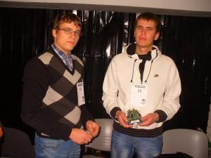 Võrumaa kutsehariduskeskuse mehhatroonikud Martin Venski ja Erki Teemant. Foto: erakogu