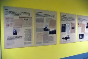 Näitus vapsidest Sindi Gümnaasiumis Foto Urmas Saard