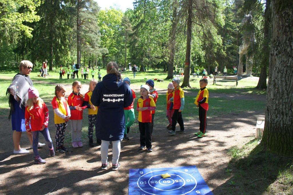 Nõmme lasteaedade metsapäev. Foto Jukko Nooni