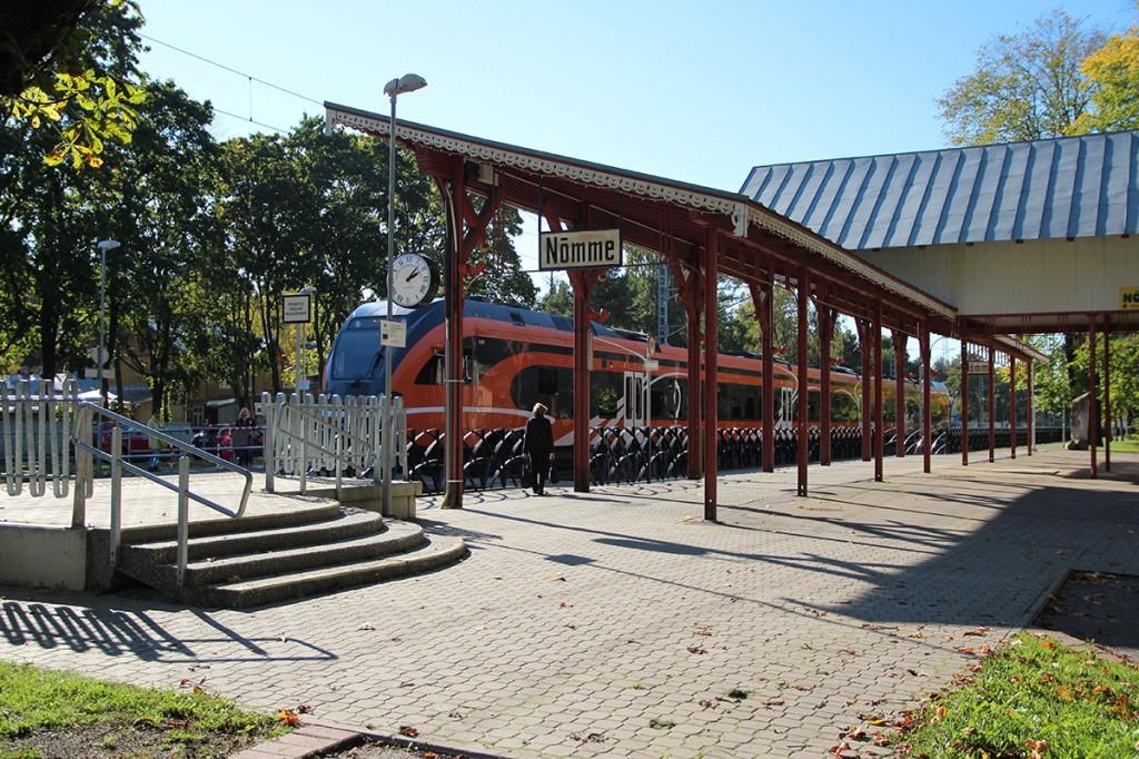 Nõmme raudteejaam Foto Jukko Noomi