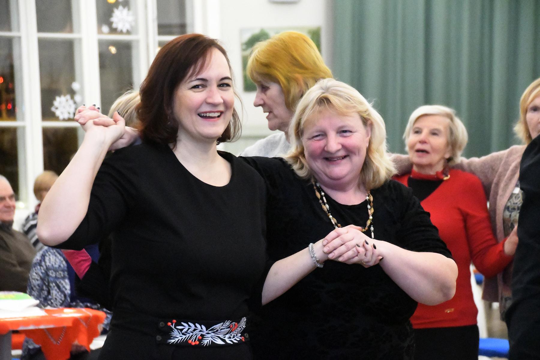 Naistelaulupäev Pärnus Raeküla Vanakooli keskuses. Foto Urmas Saard