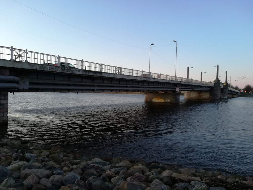 Pärnu Kesklinna sild. Foto: Urmas Saard