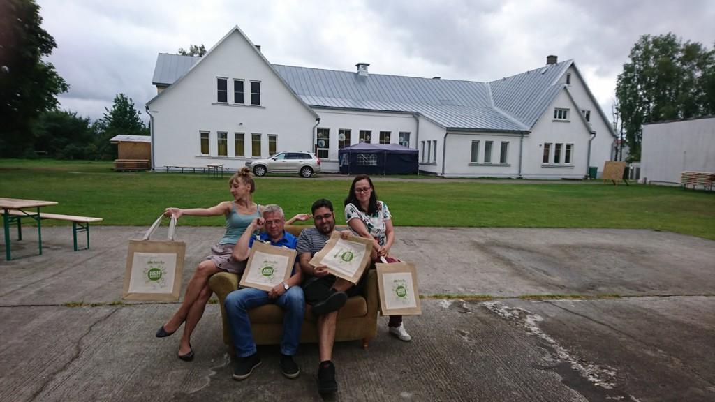 Pärnu Nooruse Majas noorsootöötajatele suunatud rahvusvaheline treeningkursus Foto Uudo Laane