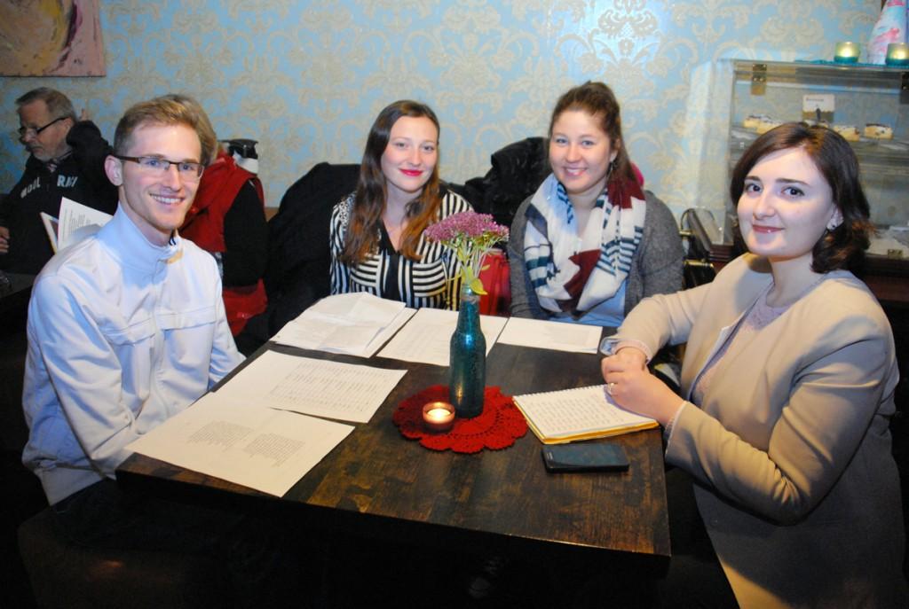 Pärnu kolledži välistudengid lugesid Shakespeare'i Foto Urmas Saard