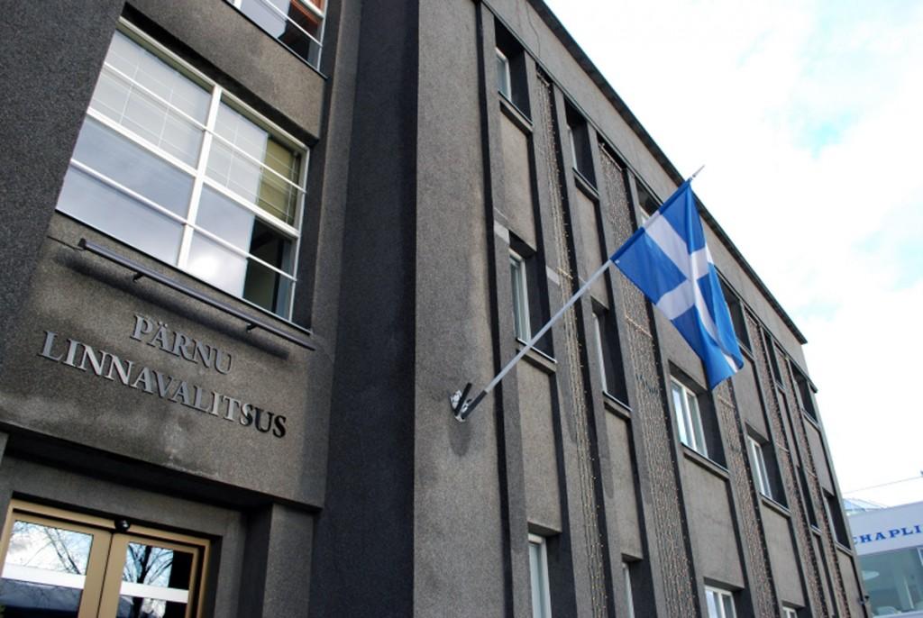 Pärnu linnavalitsuse hoone Foto Urmas Saard