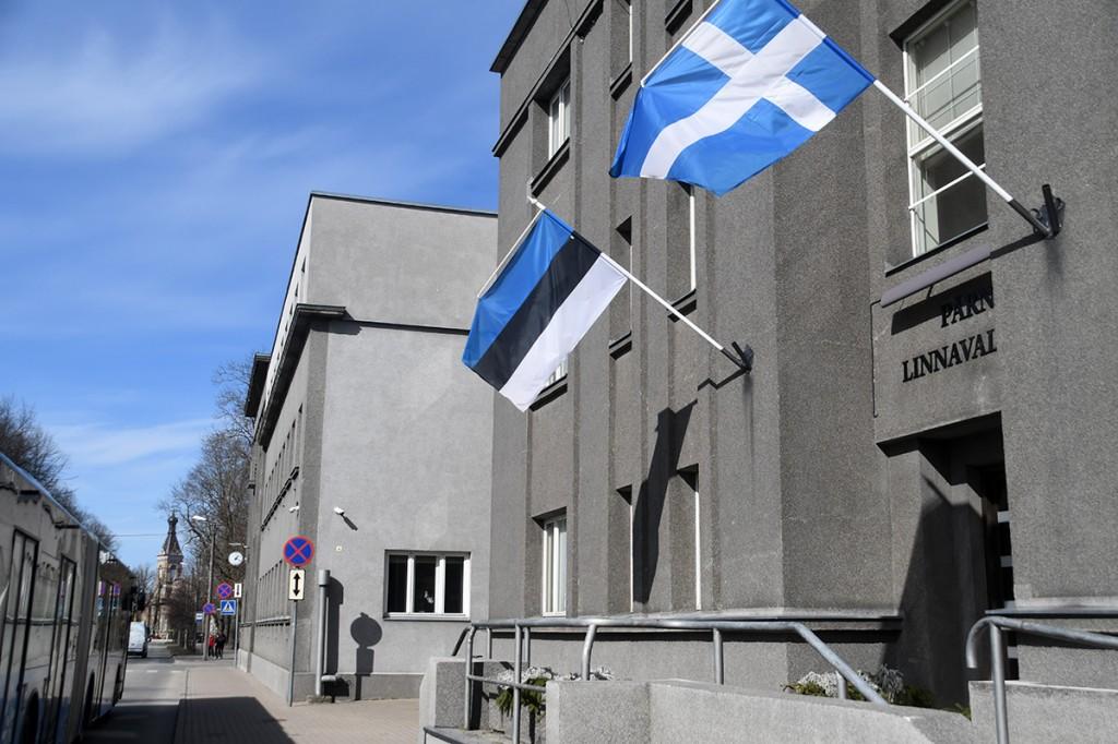 Pärnu linnavalitsuse hoone Karja tänaval. Foto Urmas Saard
