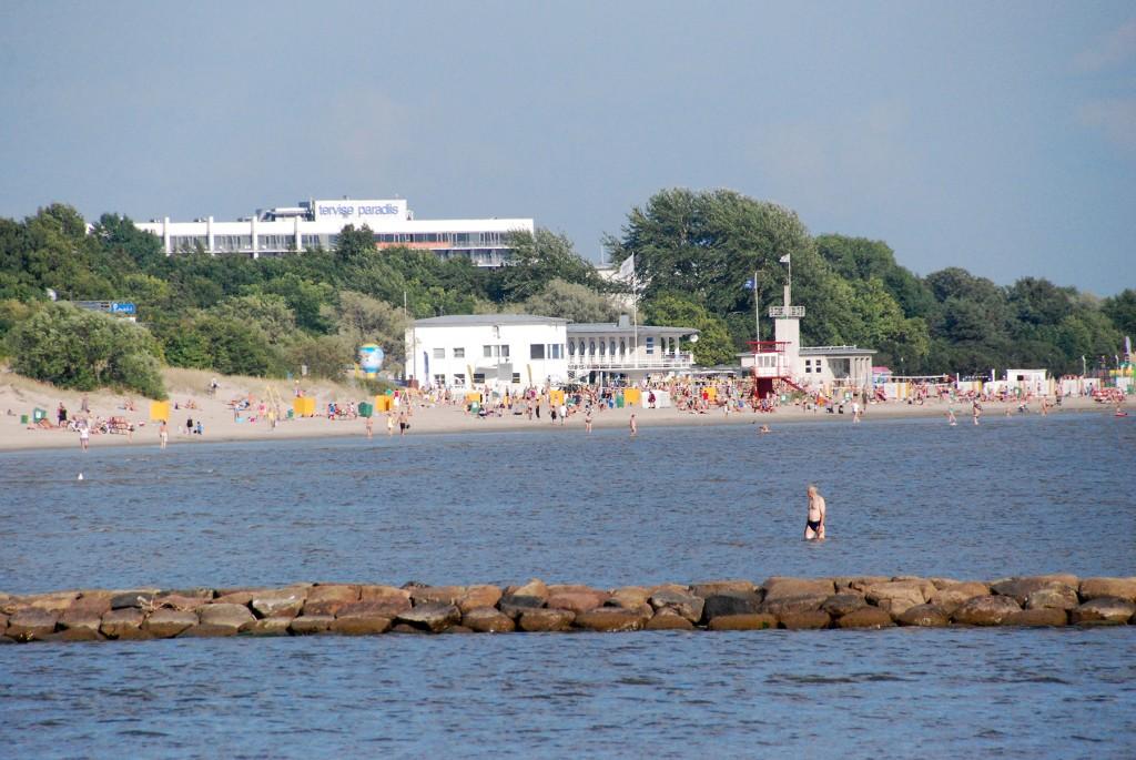 Pärnu rand. Foto Urmas Saard
