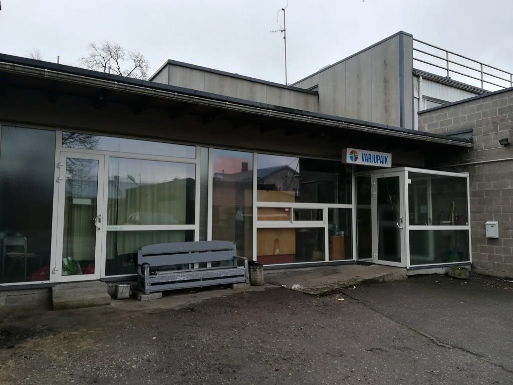 Pärnu täiskasvanute varjupaiga hoone. Foto: Urmas Saard