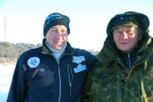 Pärnu talisuplejate seltsi asepresident Nikolai Bribõlski ja president Tõnu Kütt Foto Urmas Saard