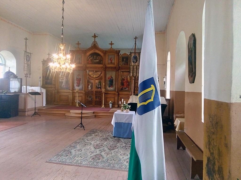 Pärnumaal Uduvere õigeusu kirikus Foto Arvo Tomson