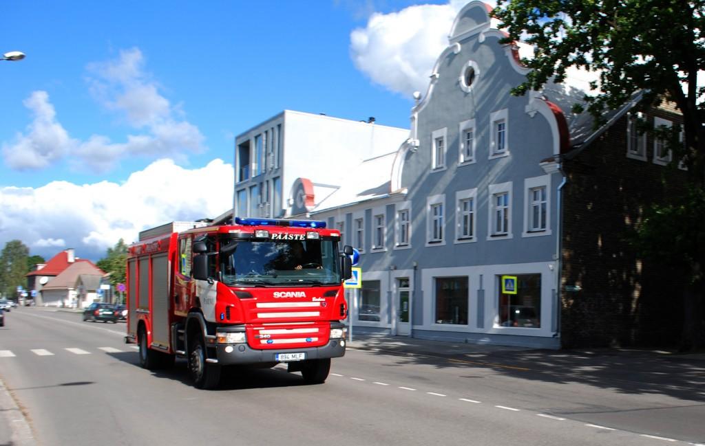 Pärnus. Foto Urmas Saard