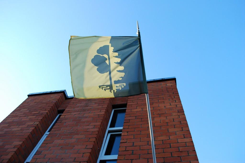 Paikuse lipp. Foto Urmas Saard