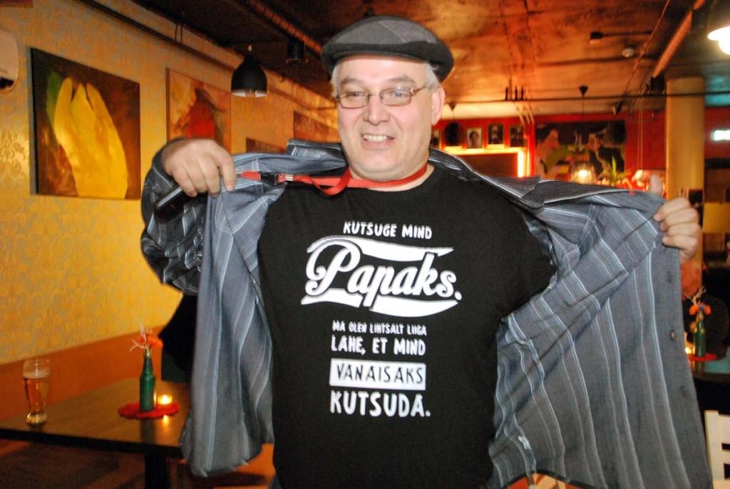 Papa Janson Versuses ansambli Rääma Blue kümnendat sünnipäeva tähistamas Foto Urmas Saard