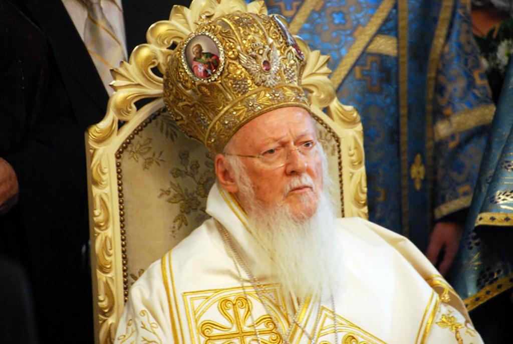 Patriarh Bartholomeos Pärnu Issandamuutmise katedraalis Foto Urmas Saard