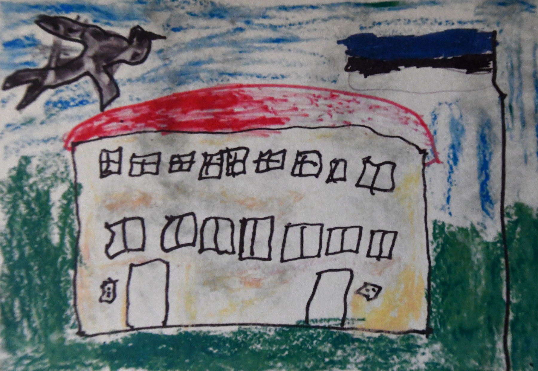 Pildi joonistas Mirell Tiitus Sindi lasteaia Puhhide rühmast