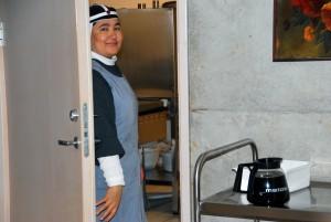 Pirita kloostris kohtab kõikjal naeratavaid nunnasid Foto Urmas Saard