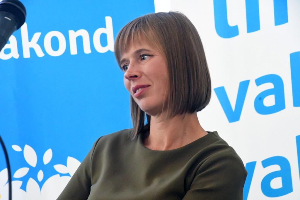 President Kersti Kaljulaid Paide Arvamusfestivalil Foto Urmas Saard