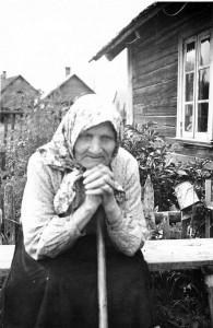 Pümme-Katrõ 1957. aastal. Tampere Herberti pilt. Pilt Eesti kirändüsmuusõumi rahvaluulõ arhiivi kogost. Uma Leht