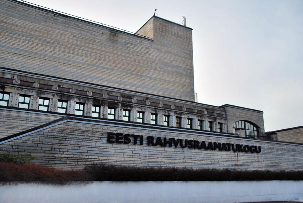 Rahvusraamatukogu hoone Tallinnas Foto Urmas Saard