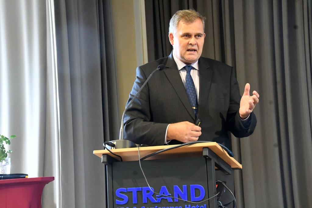 Raivo Aeg, justiitsminister. Foto Urmas Saard