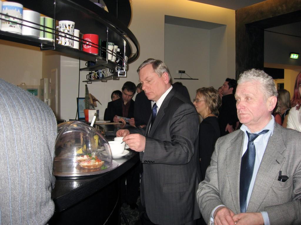 Rakvere teatri kohvikus Foto Urmas Saard