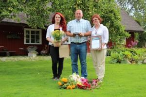 Saaremaa kogukonna pärl 2012: Tiina ja Rein Oleski pere.