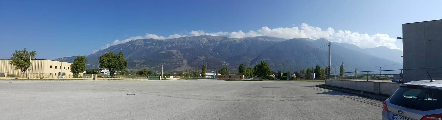 See mägi tervitas eestlasi juhtrajasõidu maailmameistrivõistluste ajal Itaalias igal hommikul Foto Karmen Mets