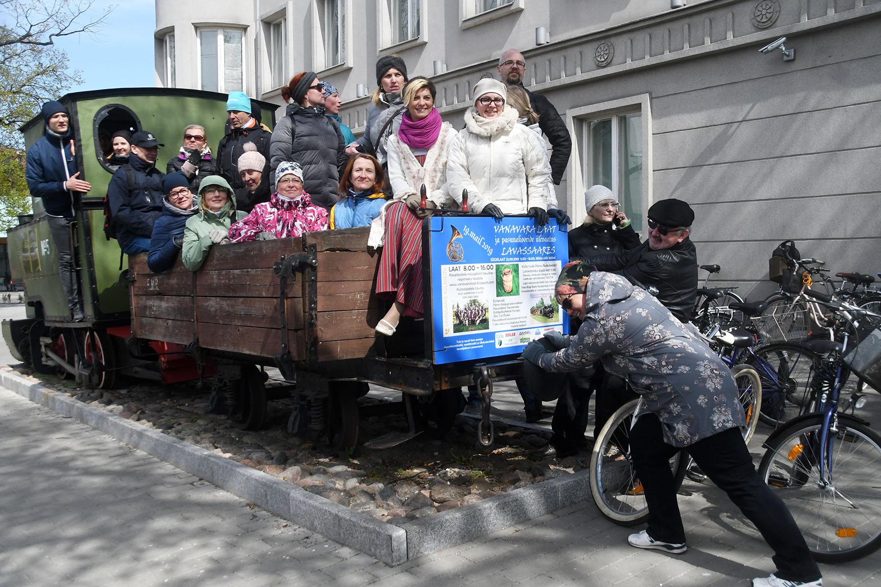 Segakoor Endla tähistab Pärnus oma 141. aastapäeva. Foto Urmas Saard