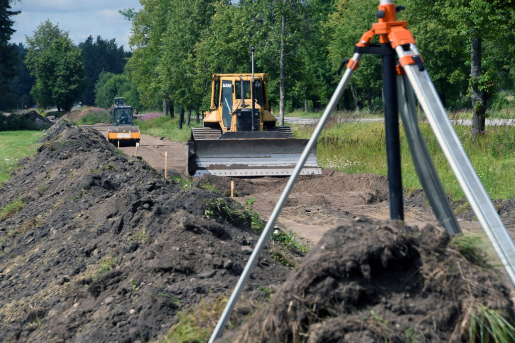 Seljametsa kergliiklustee ehitus Foto Urmas Saard