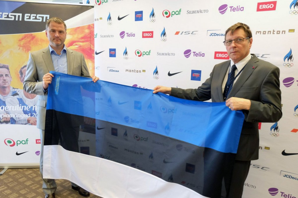 Siim Sukles ja Jüri Trei Foto Eesti Olümpiakomitee