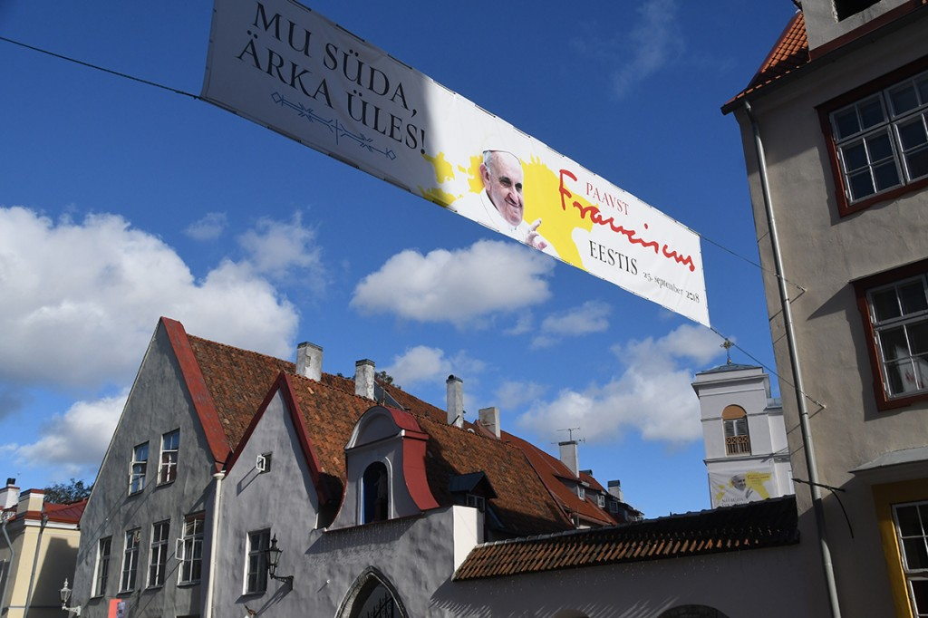 Tallinn paavst Franciscus'e ootel, Vene tänav 16 Foto Urmas Saard
