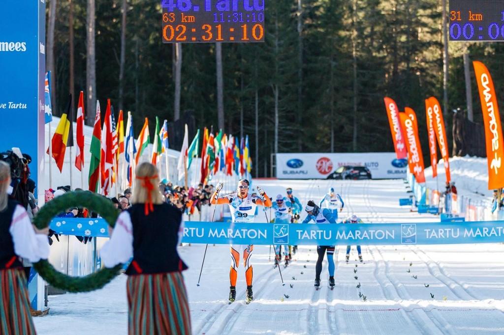 Tartu Maratoni võit läks esmakordselt Soome. Foto Adam Illingworth
