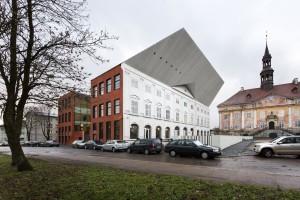 Tartu Ülikooli Narva kolledži hoone.