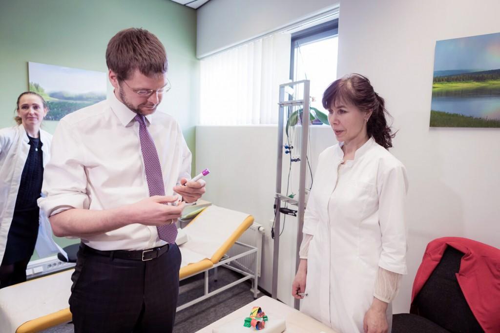 Tervise- ja tööminister Jevgeni Ossinovski Foto Silver Gutmann