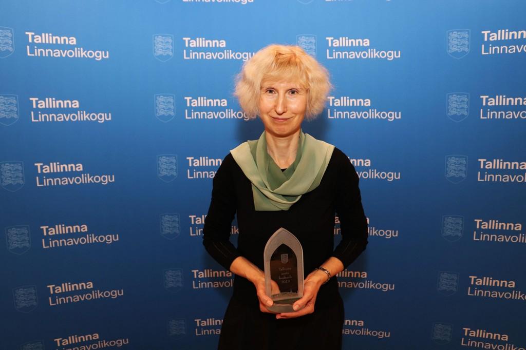 Tiina Kala, Tallinna aasta linnakodanik 2019. Foto Jukko Nooni