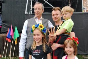 Toomas Hendrik Ilves ja Eesti-Ukraina Svjata Vatra Foto Urmas Saard