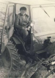 Traktorist. Foto: Obinitsa muuseum