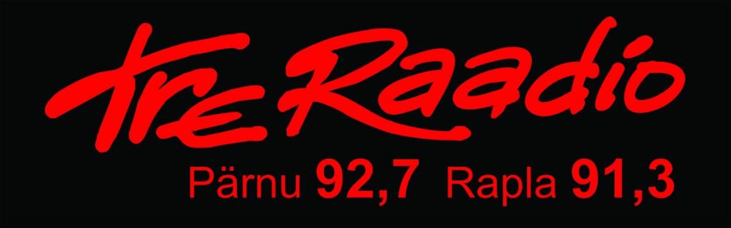 TreRaadio_mustaltaustal_punane