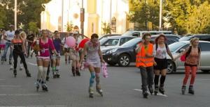 Eelmisel aasta Friday Night Skate'i stiilipeo teemaks oli tutipidu