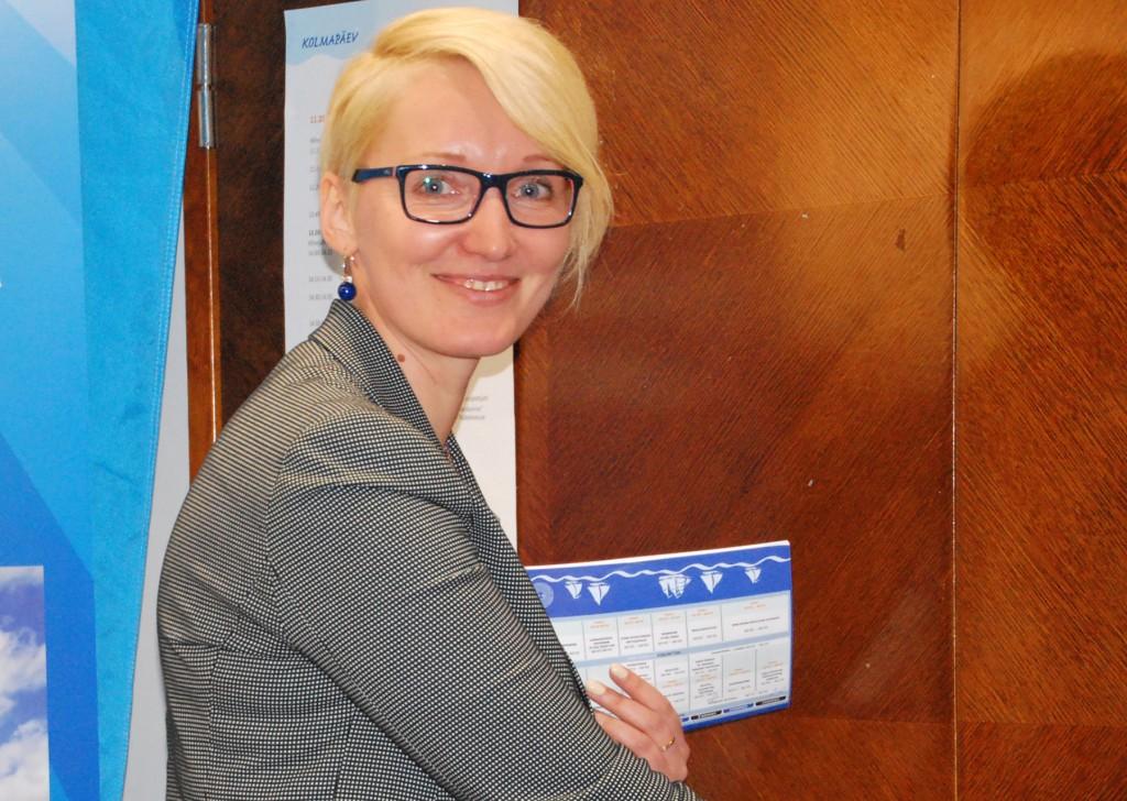 Ulla Preeden. Foto Urmas Saard