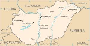 Ungari-kaart